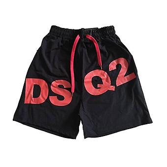Mannen katoenen shorts afdrukken bodybuilding shorts broek