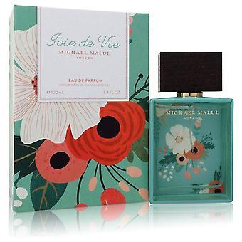 Joie De Vie Eau De Parfum Spray By Michael Malul 3.4 oz Eau De Parfum Spray