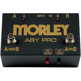 Morley aby pro 2-button aby signal switcher pedal
