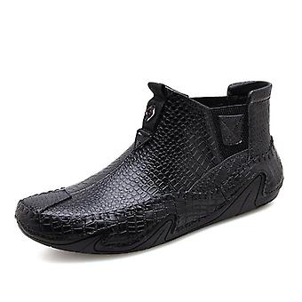 Leather Outdoor Sneakers