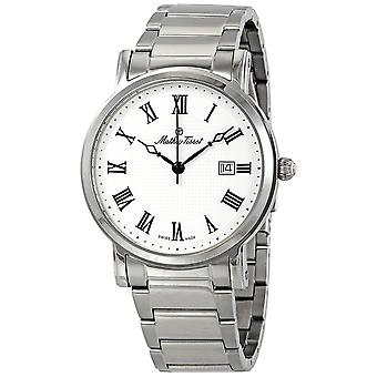 Mathey-Tissot City Metal White Dial Men's Watch HB611251MABR
