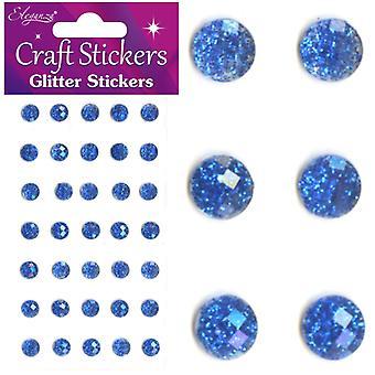 Oaktree UK Ltd - Glitter Gems - 8mm - Royal Blue