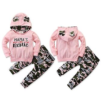 Winter Toddler Baby Hoodie, Outfit Clothes Tracksuit