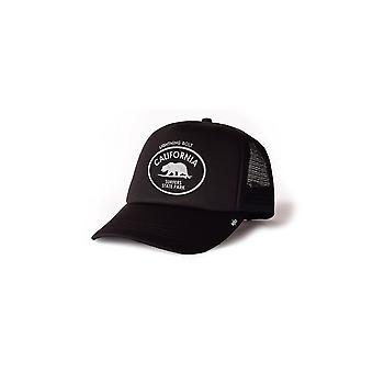 Lightning bolt surfer trucker hat
