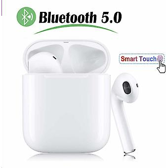 Bluetooth Earphone, Lightweight Wireless Earphone 950mAh Stereo Charging Box 100 Hour Playtime IPX5 Waterproof Sport Built-in Mic Headset and Charging Box for Apple Airpods Android iPhone
