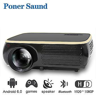 Mini 4k Draagbare 1920 * 1080P Full Hd proyector