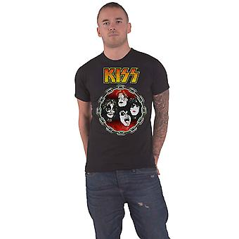 KISS T Shirt You Wanted The Best Band Logo new Official Mens Black