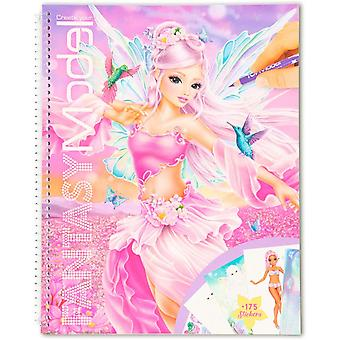 Create Your Fantasy Model Colouring Book