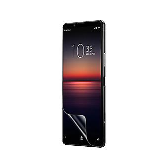 Celicious Vivid Flex Invisible Glossy 3D Screen Protector Film Compatible with Sony Xperia 1 II [Pack of 3]