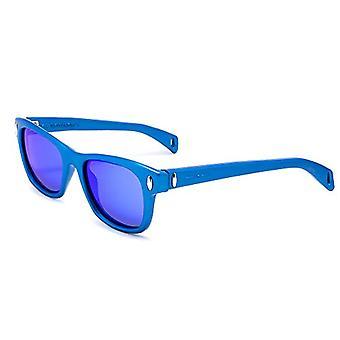 ITALIEN UAFHÆNGIGE 0012-021-000 solbriller, Blå (Azul), 53,0 Unisex-Voksen