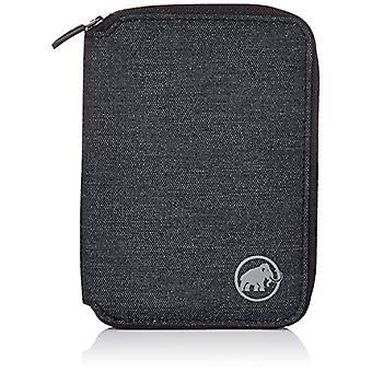 Mammoth Zip Melange, Unisex-Adult Wallet, Black, 5x10x15 Centimeters (W x H x L)(2)