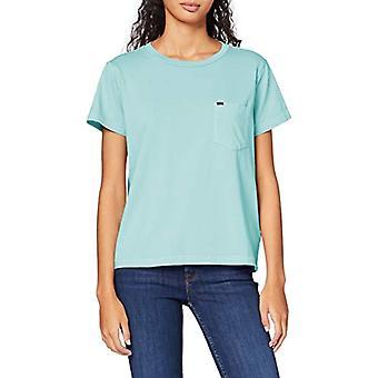 Lee Plagg Färgad Tee T-Shirt, Grön (Sommarmynta Nej), S Donna