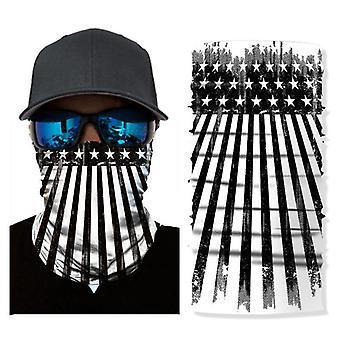 Sluneční maska vlajka tisk cyklistika horolezectví venkovní sportovní magie bezešvý šátek