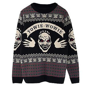 WWE Mens The Fiend Yowie Wowie Bray Wyatt Knitted Jumper
