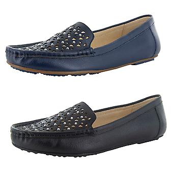 Isaac Mizrahi Live Womens Andrea Leather Moccasin Shoes