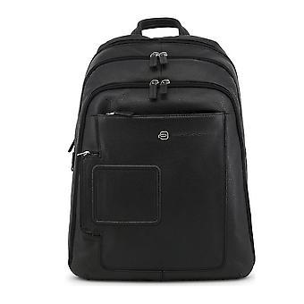 Piquadro - Bags - Backpacks - CA1813VI-N - Men - Schwartz
