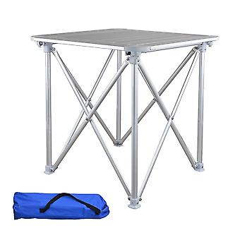 Hooru Camping Aluminum Table Fishing Beach Outdoor Folding Table Portable