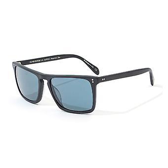 Oliver Peoples Bernardo Sunglasses - Semi-Matte Black