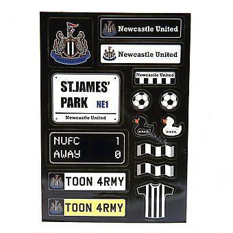 Feuille d'autocollants newcastle United FC
