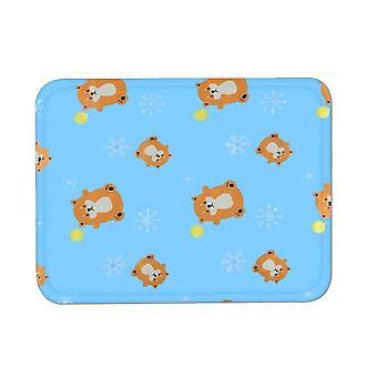 Liten blå sommer katt matt matte er bite resistantdog kennel ismatte x490