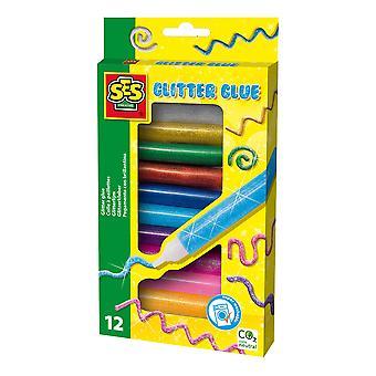 SES Creative Children's Glitter Glue Activity Set