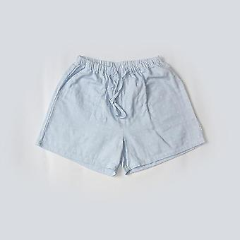 Women  Summer Sleep Bottoms Soft Shorts, Loose Printed Flowers
