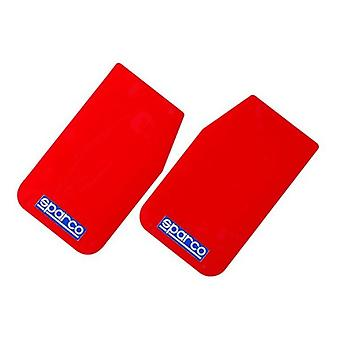 Schlammklappe Sparco 03791RS Rot 2 uds