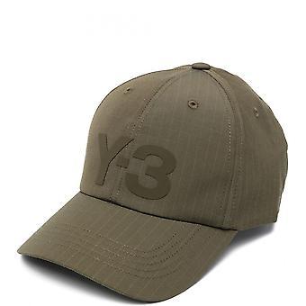 Y-3 Mens Green Cap