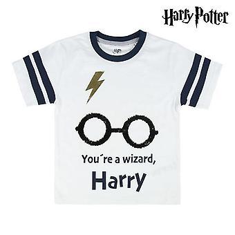 Short Sleeve T-Shirt Harry Potter White