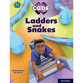 Project X CODE Lime Book Band Oxford Level 11 Maze Craze Ladders and Snakes by Abbie Rushton