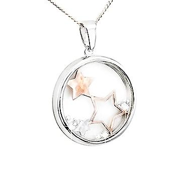 Eira Wen  Swarovski Crystal Necklace With Tree Of Life Or Butterfly Or Full Moon Pendant In Silver Plating For Women Ladies Anniversary Birthday Mothe