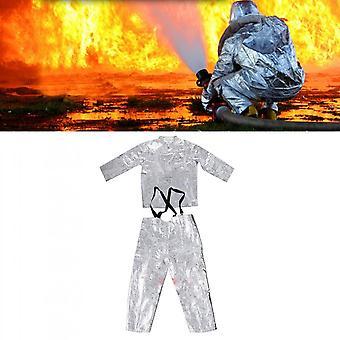 Aluminiumfolie Feuergeschützte Kleidung Wärmedämmung Kleidung Full Set