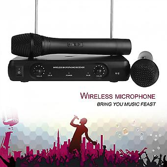 Professional Wireless Microphone Home Karaoke Microphone Transmitter System