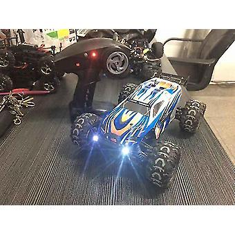 Nelivetoinen kauko-ohjattava auto 1:18 off road drifting lasten sähkölelevä RC malli (Sininen)