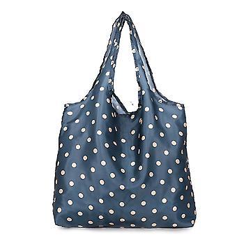 حقيبة التسوق صديقة للبيئة حقيبة بقالة سوبر ماركت قابلة للطي غسلها أكسفورد القماش المحمولة