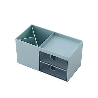 Makeup Organizer Desktop Storage Box Container for Cosmetics Sundry Box for Jewelry Stationery Case