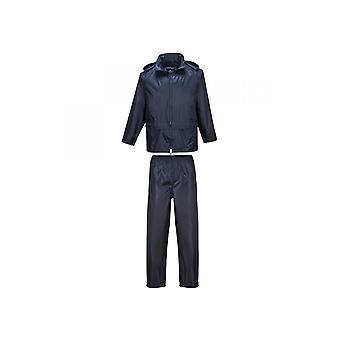 Portwest PVC Essentials Rainsuit (2 Piece Suit) L440