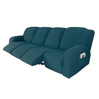 Recliner sofa slipcover couch covers for 4 cushion couch, sofa cover furniture protector with elasticity, dark teal
