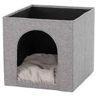 Trixie Ella's Soft Cave für Regal Grau (Katzen , Erholung , Iglus)