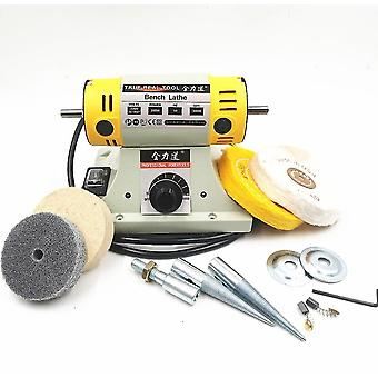 Woodworking Jewelry Dental Bench Lathe Motor Grinding Machine