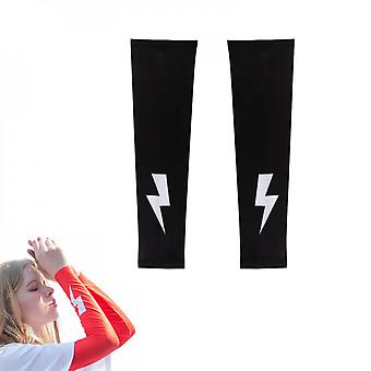 Sun Protection Cycling Arm Sleeves Outdoor Sports Golf Fishing Cover Warmer Cuff