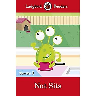 Nat Sits - Ladybird Readers Starter Level 3