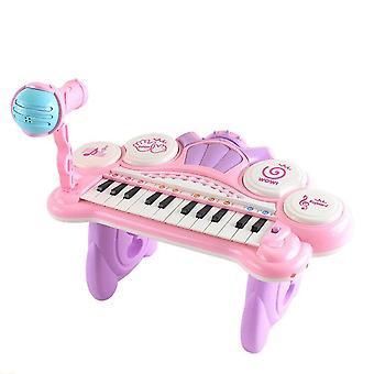 Musiikki piano valaistus äänitehosteet multimedia toisto oppiminen koulutus soitin