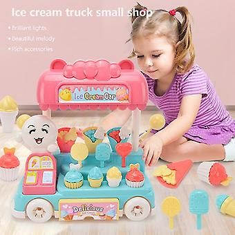 Pretend Play Play Simulation Toy Children's Play House Toys SoundColor Kitchen Toys