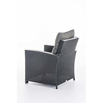 Tuinmeubelen - Tuinmeubelen - Loungemeubels - Modern Zwart 73 cm x 70 cm x 82 cm