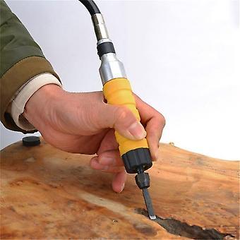 חשמלי אזמל גילוף כלי עץ גילוף מכונת Woodworking קטן spanner