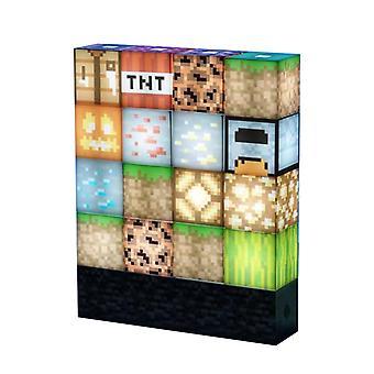 كتلة بناء ضوء Diy لعبة هدية سطح المكتب الديكور غرفة نوم مصباح الليل