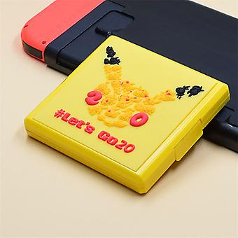 Portable Thin Hard Shell Game Card Box For Nintendo Switch