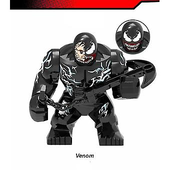 New Venom! Building Block Man Toy! Children's Gifts!