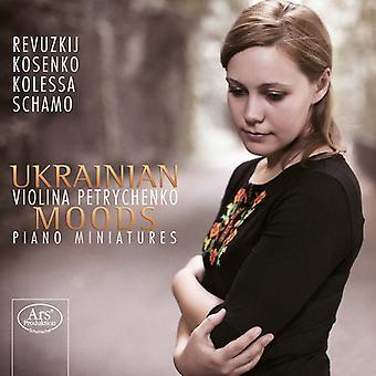 Kolessa / Petrychenko, Violina - Ukrainian Moods - Piano Miniatures [SACD] USA import